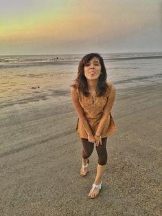 Shirley Setia Beach Photos