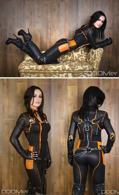 Character: Miranda Lawson / From: BioWare's 'Mass Effect' Video Game Series / Cosplayer: Maria Hanna (aka Hannuki)