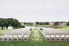 Stonebridge Ranch Country Club Wedding Ceremony Outdoor In Mckinney Texas By Dallas Photographer Stephanie Brazzle Photography