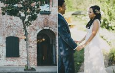 Carondelet House wedding. Photo by Rad + In Love. Wedding coordination by Zoie Events.