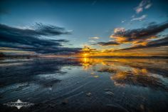 'Mirror For The Sun' - tonight's low tide sunset from Dog Beach in OB 11-22-13. Also a line from one of my favorite Red Hot Chili Peppers songs... Evgeny Yorobe Photography