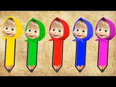 Aprender los Colores Huevos Sorpresa! Pato Duck, Masha y Oso, Mickey Mouse, Minnie Mouse, Chat Noir - YouTube