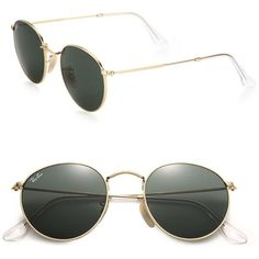 fe50d00cad Ray-Ban 50MM Round Sunglasses Ray Ban Round Sunglasses