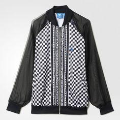 factory price 70759 fd91d NWT Adidas Originals Womens Soccer Sport Track Zip Front Jacket AJ8582 Sz M