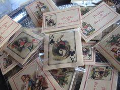 Alice in Wonderland Tea Party Bridal Shower.  Alice Tea envelopes party favors. Ebay.