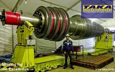 This Rotor Inspection is to check the reliability of MHI-701F Rotor through OEM qualifications.  Since it has completed earlier than scheduled to replace, the customer was able to shorten the outage period, thus to maximize the power generation availability.   For more information, please contact us, a Turbomachinery Equipment Services at www.taka.co.id