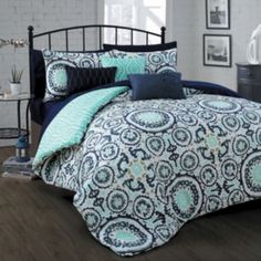 Avondale+Manor+Leona+10-piece+Bed+in+a+Bag+Set