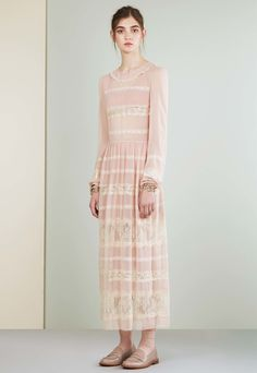 Red Valentino Resort 2017 Fashion Show  This seems a lot better than the last Valentino family collection, which was terribly racist: http://www.theclosetfeminist.ca/valentinos-pre-fall-2016-collection-had-an-uncomfortable-amount-of-borrowing/   http://www.vogue.com/fashion-shows/resort-2017/red-valentino/slideshow/collection#42