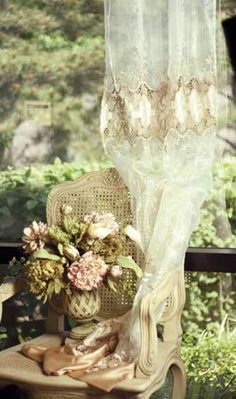 shabby chic and lace