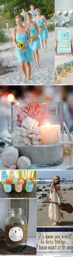 Beach Chic Wedding Inspiration ...
