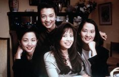 The Joy Luck Club 1993- The daughters:  Tamlyn Tomita, Ming-Na Wen, Lauren Tom, and Rosalind Chao