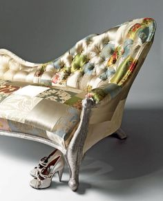 Some Pinterest Favorites: Patchwork Chairs, Sofas and More   The Colorful Bee