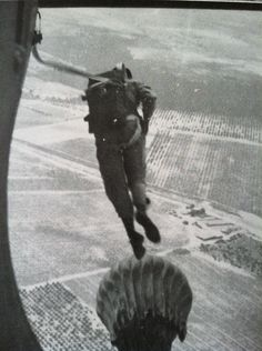 11th Airborne WWII  Paratrooper jump
