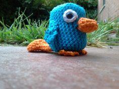 Perry Platypus Crochet Pattern | Amigurumi Rozas: ¡Perry el ornitorrinco!