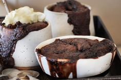 Chocolate and Vino Cotto Self Saucing Pudding - Maggie Beer