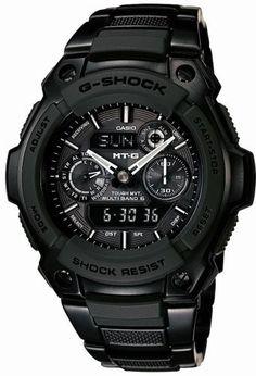 fcd5c4772ff Casio Mens G-Shock Premium MT-G Alarm Chronograph Watch (MTG-1500B