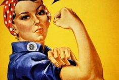we can do it, world war II, poster, rosie the riveter Rosie The Riveter, Famous Feminists, Feminist Icons, Today Show, Powerful Women, Ladies Day, World War Ii, Strong Women, Equal Rights