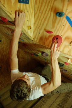 images about Home rock climbing walls on Pinterest