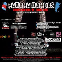 Ya está disponible para su escucha y/o descarga gratuita el #CompiladoNº16 #Abril2017 de #ParanaBandas producido por #FabUrcSAStudios & #CGCWebRadio