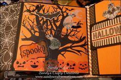 Finish it Friday {Halloween Mini Album} The Sunday Version ...