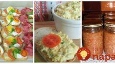 9 rýchlych a lacných pomazánok pred výplatou: Pár centov a nakŕmite celú rodinu, delikatesy našich babičiek! Mashed Potatoes, Grains, Brunch, Rice, Snacks, Breakfast, Ethnic Recipes, Food, Whipped Potatoes