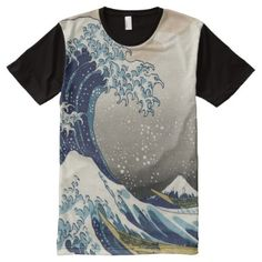 The Great Wave off Kanagawa T-Shirt - click/tap to personalize and buy