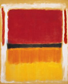Untitled (Violet, Black, Orange, Yellow on White and Red) / Mark Rothko / 1949 / Oil on canvas