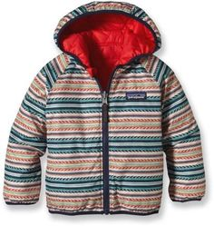 Patagonia Baby Reversible Puff-Ball Insulated Jacket - Infant/Toddler Boys' - REI.com