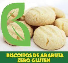 BISCOITO DE ARARUTA ZERO GLÚTEN - Receita Brasil Natural