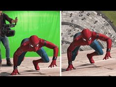 Imageworks had already worked on all previous Spiderman movies so, in an attempt to give Spiderman Homecoming a fresh new look, producers were reluctant to i. Spiderman Fight, Spiderman Movie, Movie Special Effects, Stark Industries, In And Out Movie, After Movie, Hulk Marvel, Movie Facts, Famous Movies