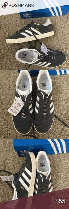 NWB adidas Suede gazelle Sneakers New with tags and box. Size us 6.5, FR 39.5,  UK 6. Adidas sneakers usually run big. I'm a true 7.5 and these fit great so I'd say these would fit sizes 7.5/8 adidas Shoes Sneakers