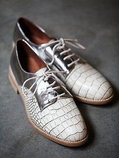 Free People Shiloh Saddle Shoe