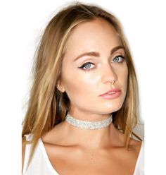 Western Fashion Party Barby Rhinestone Choker