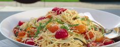 Super fresh ingredients take a simple pasta dish to an entirely new level.
