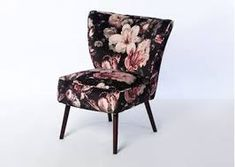 This stock option Phoebe cocktail chair comes with a wenge leg as standard. Home Furnishing Stores, Room Decor, Living Room Decor Colors, New Furniture, Chair, Furnishings, Cocktail Chair, Curtains For Sale, Home Furnishings