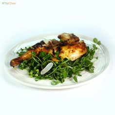 Grilled Chicken with Spring Salad by Michael Symon! #TheChew #Dinner #Lunch