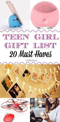 Annual Teen Girl Gift Guide - Gifts for Teens - Geschenke Christmas Gifts For Teen Girls, Trending Christmas Gifts, Gifts For Teens, Christmas Ideas For Teens, Diy Christmas, Cool Gifts For Women, Vintage Christmas, Diy For Girls, Diy For Teens