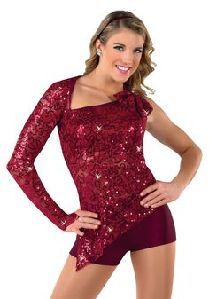 14206 - Wepa Colors: 08 Black/Silver, 41 Plum, 44 Teal, 89 Burgundy by A Wish Come True Cute Dance Costumes, Jazz Costumes, Theatre Costumes, Ballet Costumes, Jazz Dance, Dance Moms, Dance Wear, Cheer Outfits, Dance Outfits