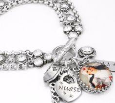 Love a Nurse Charm Bracelet