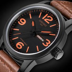 Luxury Top Brand CHRONOS Watch Men Genuine Leather Casual Japanese Quartz Watch Waterproof Date Clock Relogio Masculino De Luxo - Online Shopping for Watches