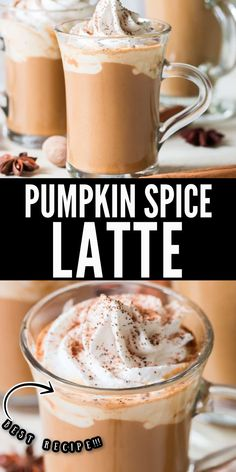 You can now make better than Starbucks pumpkin spice latte at home in less than 10 minutes! A perfect beverage to celebrate the arrival of fall and all things pumpkin! #pumpkinspicelatte #latte #pumpkinlatte #falldrinks #Starbucks #copycat #recipe #drinks #beverage #easy #easyrecipe #homemade #pumpkinrecipes Homemade Pumpkin Spice Latte, Starbucks Pumpkin Spice Latte, Pumpkin Spiced Latte Recipe, Canned Pumpkin, Pumpkin Recipes, Starbucks Coffee, Coffee Drink Recipes, Starbucks Recipes, Coffee Drinks