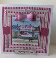 Crafter's Companion Halcyon Days CD ROM made by Caroline Weir Scrapbooking, Scrapbook Pages, Crafters Companion Cards, Halcyon Days, Paper Cards, Bunting, Cardmaking, Card Ideas, Card Crafts