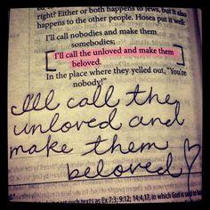 Romans 9:25 I'm loving this!!