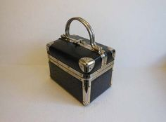 60s handbag / 1960s Junk in your Trunk Box by Planetclairevintage
