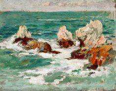 Eliseu Meifrèn i Roig (Barcelona, 1857 - 1940) Roques de Deia