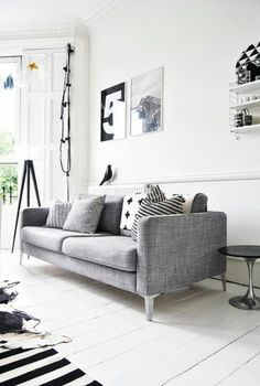 Perfect grey livingroom