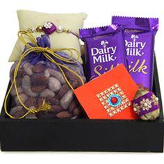 Yummy Treat on Rakhi Rs 1149/- http://www.tajonline.com/rakhi-gifts/product/r3931/yummy-treat-on-rakhi/?aff=pint2014/