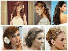 Fotos de modelos de diferentes comprimentos de cabelo