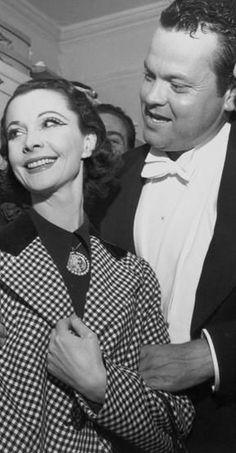 Vivien Leigh and Orson Welles.