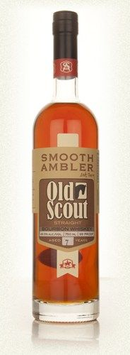Smooth Ambler Old Scout 7 Year Old Bourbon, tasted at first NYC Brown Water Society meeting 4.3.2014